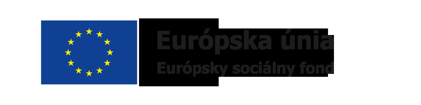 logo EU ESF farba svk